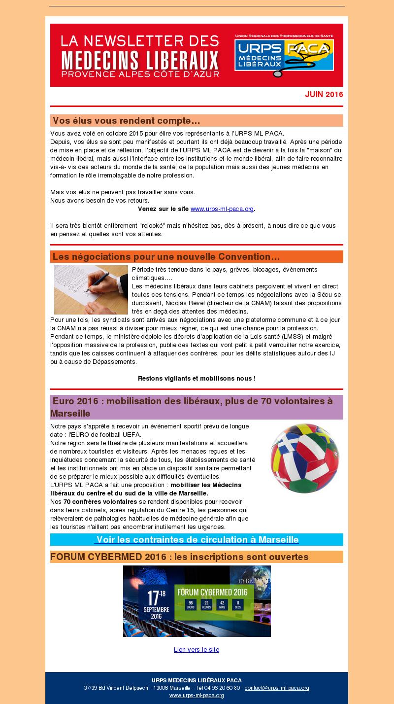 E-journal – Juin 2016