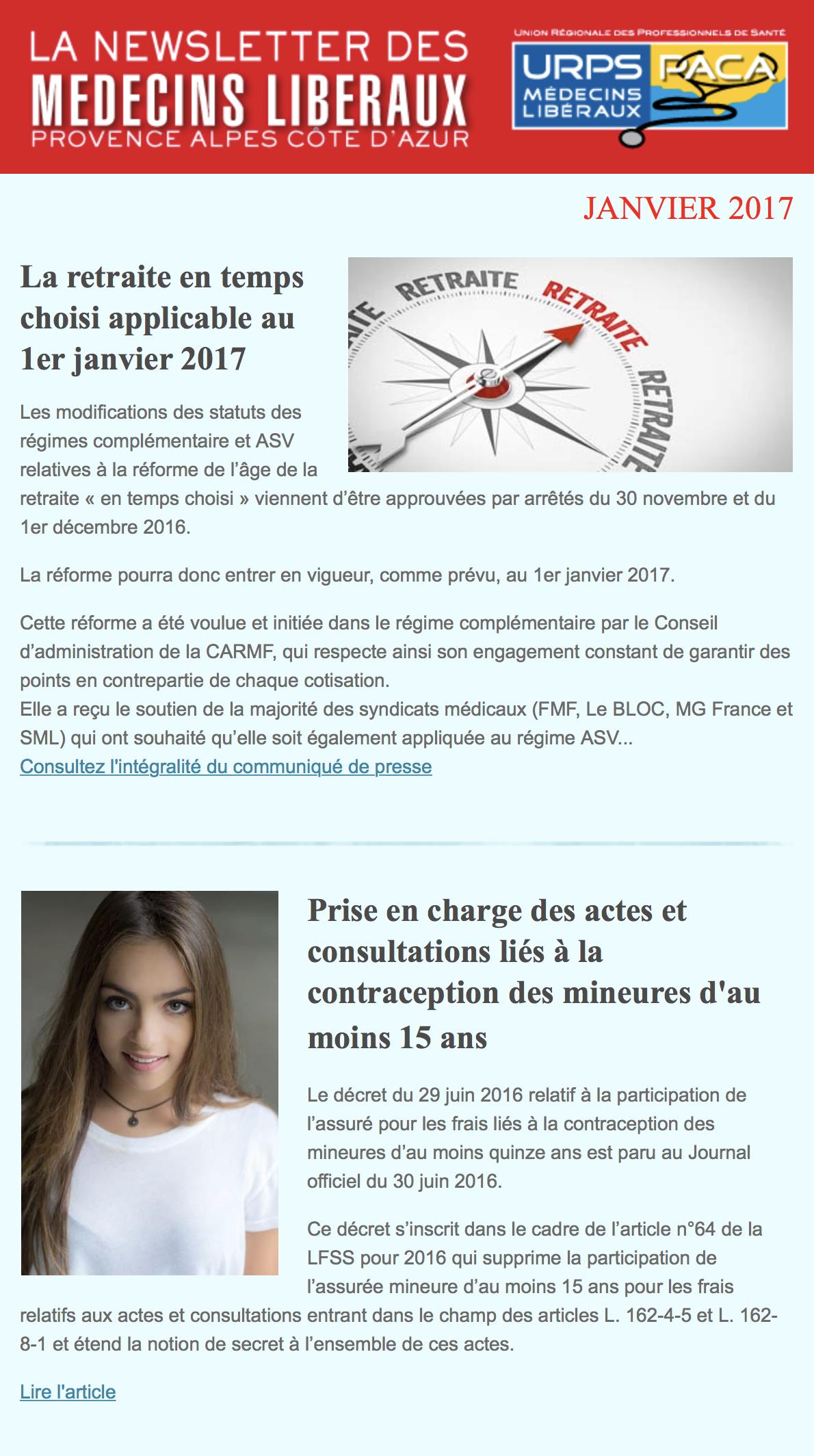 E-journal – Janvier 2017