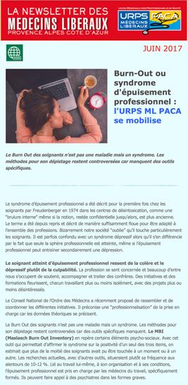 E-journal – Juin 2017