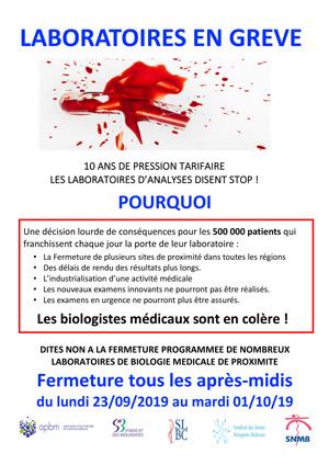 Grève Des Laboratoires De Biologie